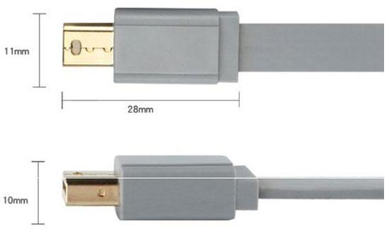 DisplayPort Cable 1.2, Mini DP Cable
